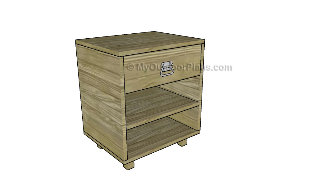 Nightstand plans free outdoor plans diy shed wooden for Free nightstand woodworking plans