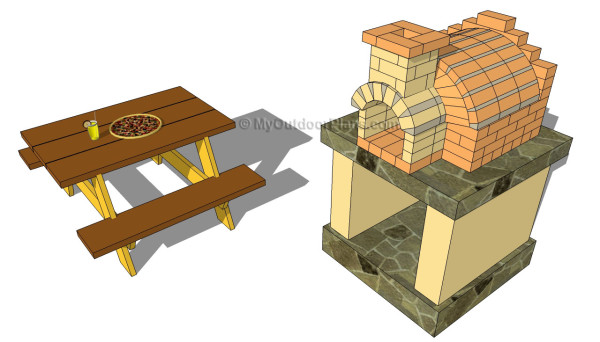 Outdoor pizza oven plans free