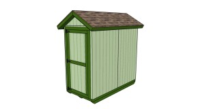 4×8 Shed Plans