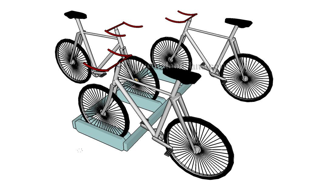 Wall Mounted Bike Rack Plans Myoutdoorplans Free