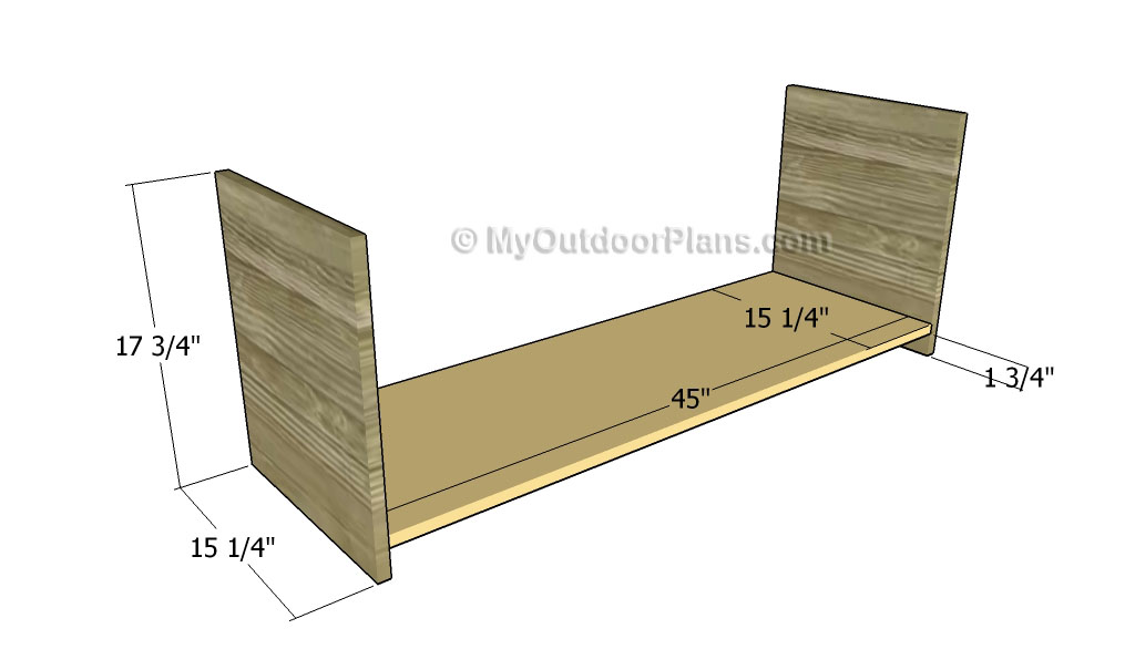 Hall Tree Bench Plans | Free Outdoor Plans - DIY Shed, Wooden ...