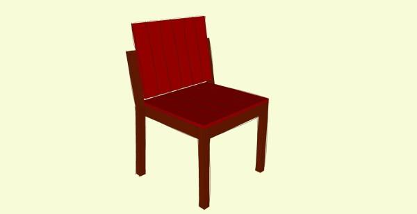 Garden chair plans
