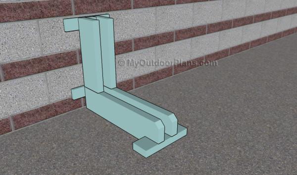 How to build a bike rack