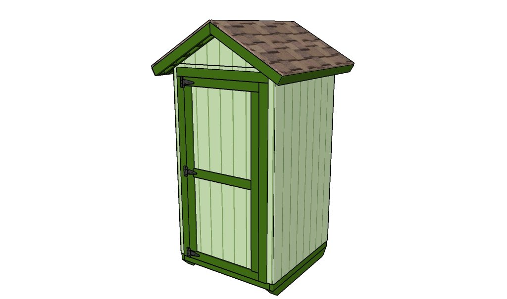 Small Storage Shed Plans | Free Outdoor Plans - DIY Shed, Wooden ...