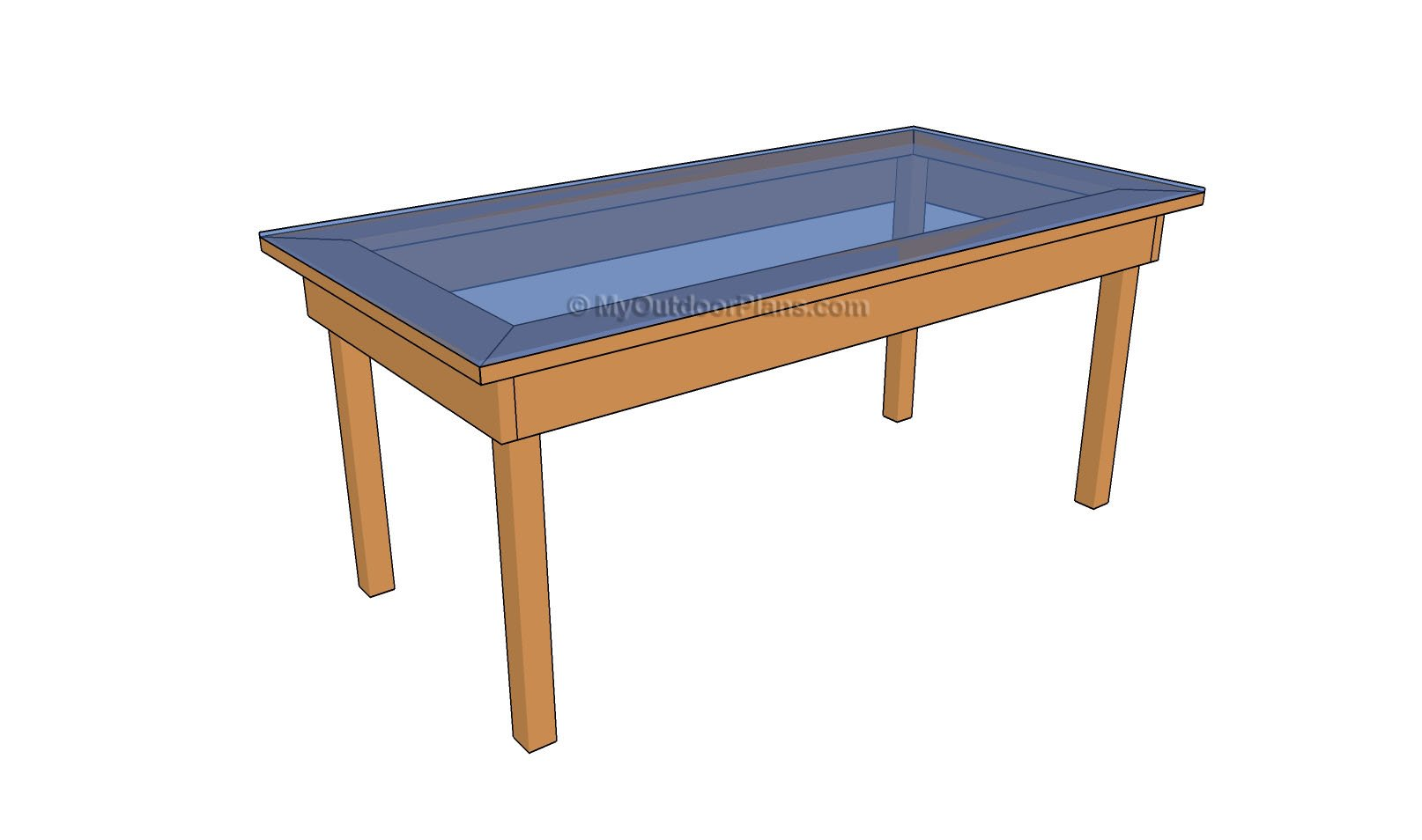 Kane: Useful Wood bistro table plans
