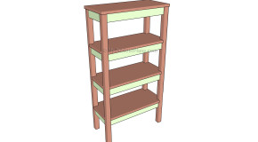 Bathroom Shelves Plans