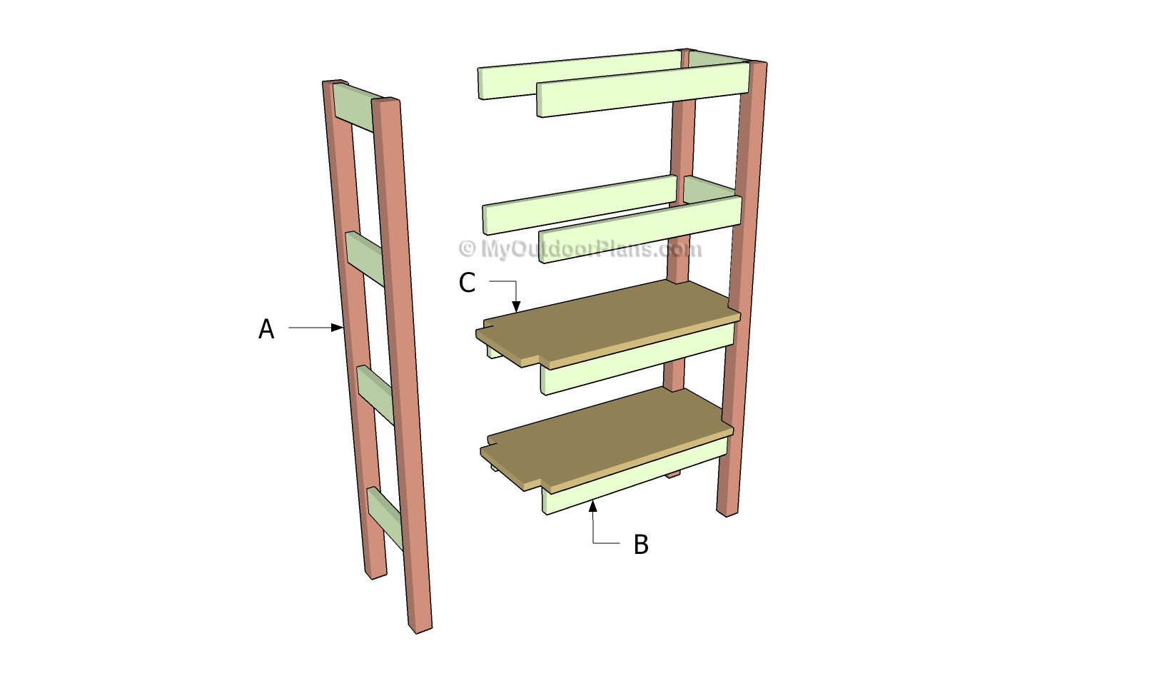 build-wall-shelves-without-brackets | Search Results | Woodworking ...