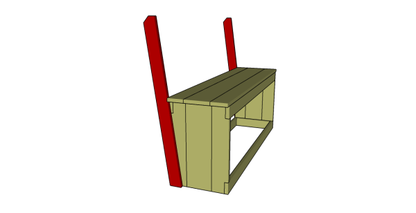 Fitting the backrest supports