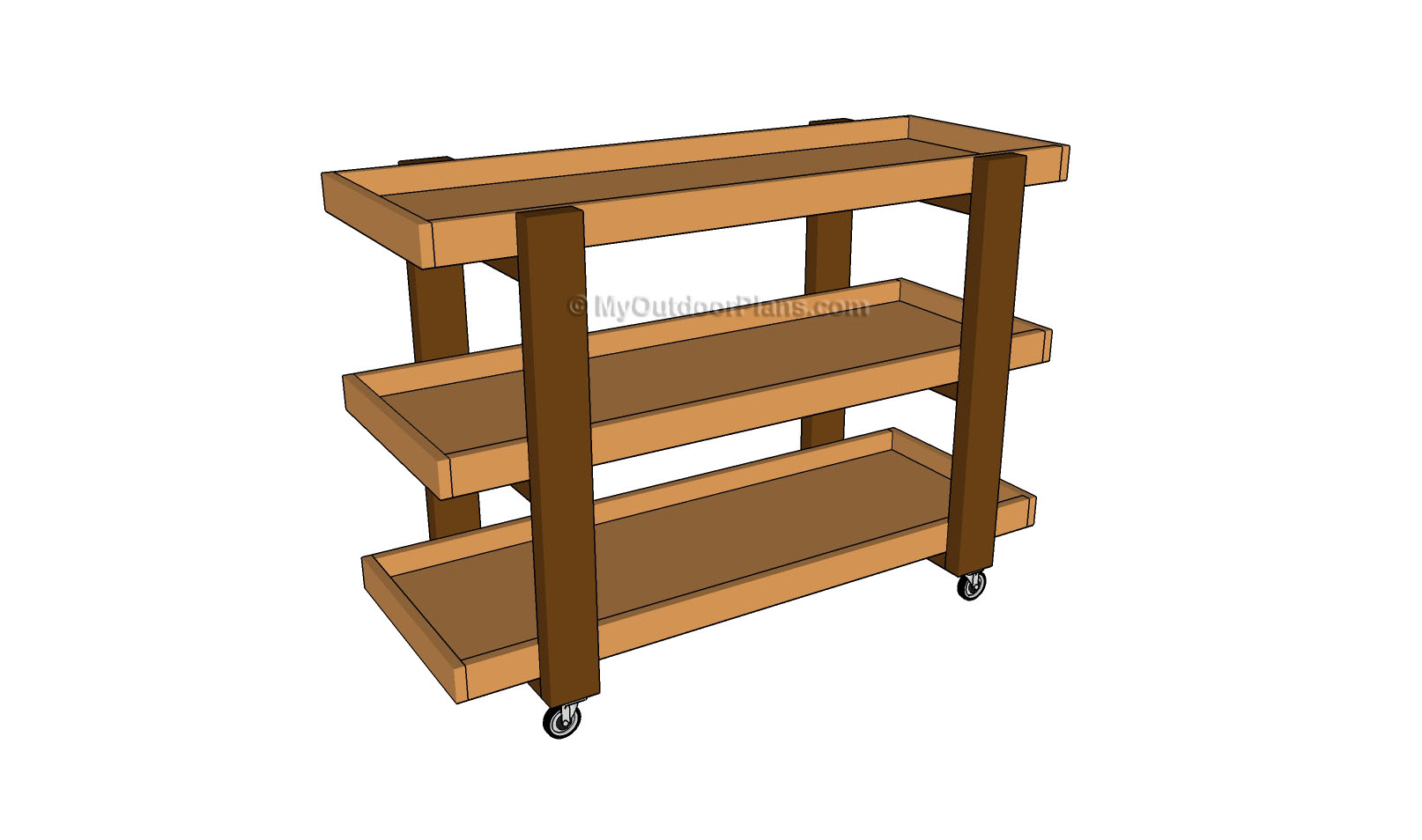 Storage Cart Plans