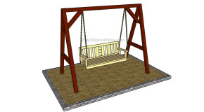 A Frame Swing Plans