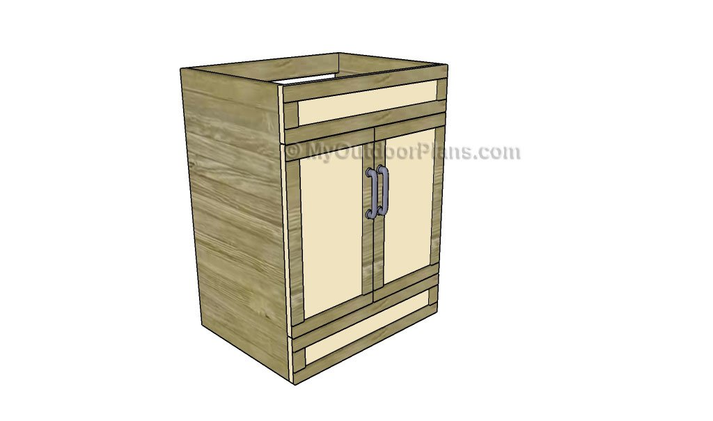 Bathroom Vanity Plans Free Outdoor Plans DIY Shed Wooden Playhouse Bbq