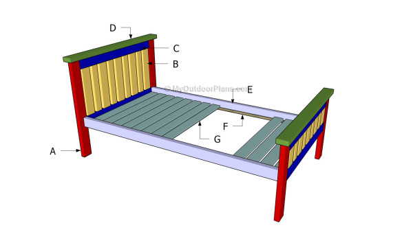 Building a farmhouse bed