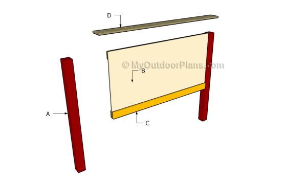 Building a headboard