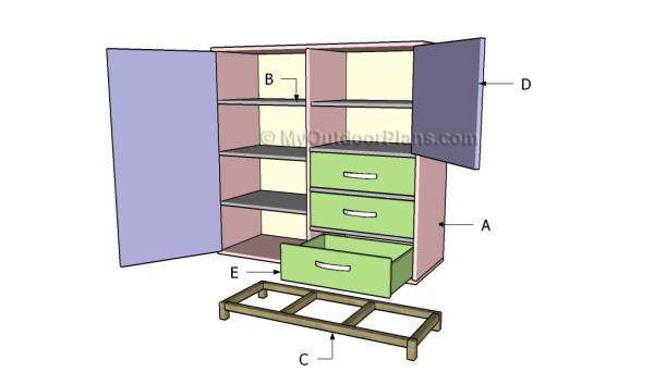 Building a secretary desk