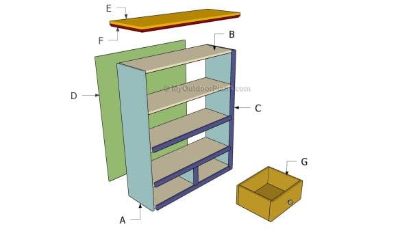 Building a simple bookcase