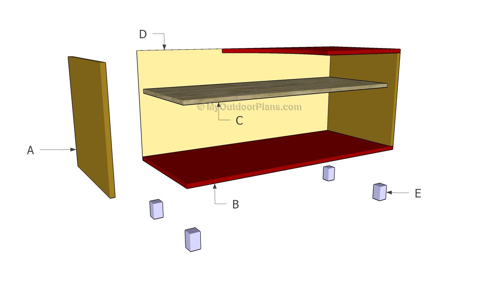 TV Stand Plans MyOutdoorPlans Free Woodworking Plans