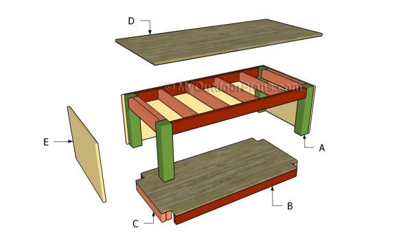 Building a washer pedestal