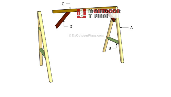 Building-an-a-frame-swing