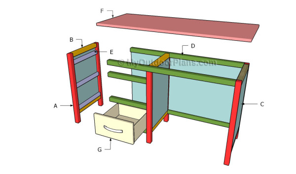 Building an office desk