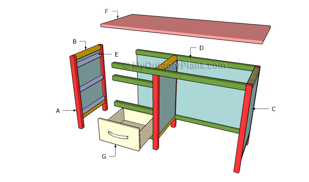 building an office desk plan