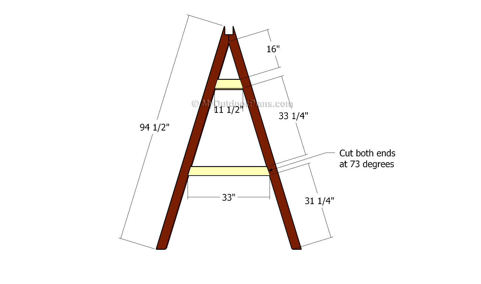 A Frame Swing Plans Free Outdoor Plans Diy Shed