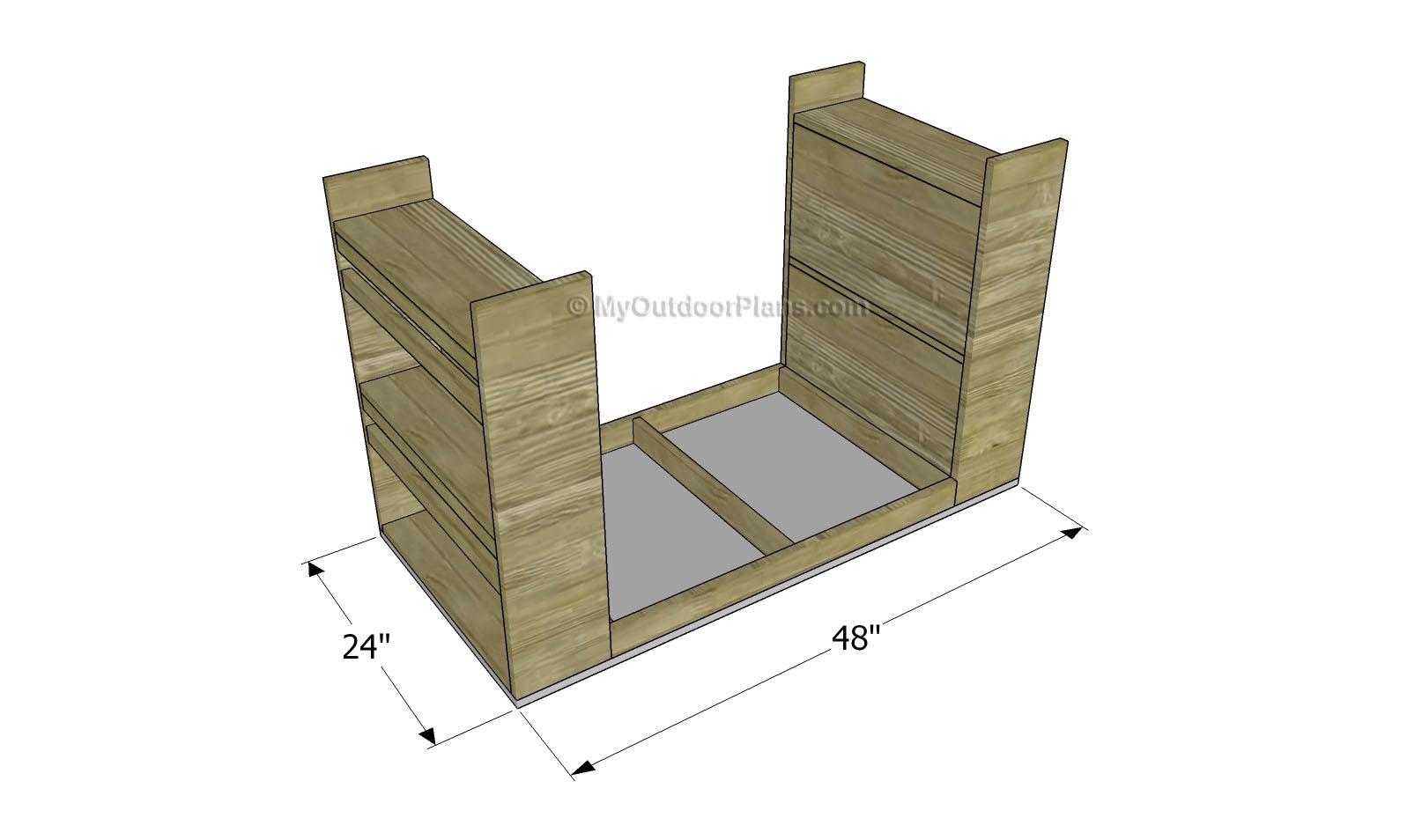 Kids Desk Plans Free 1614 x 954