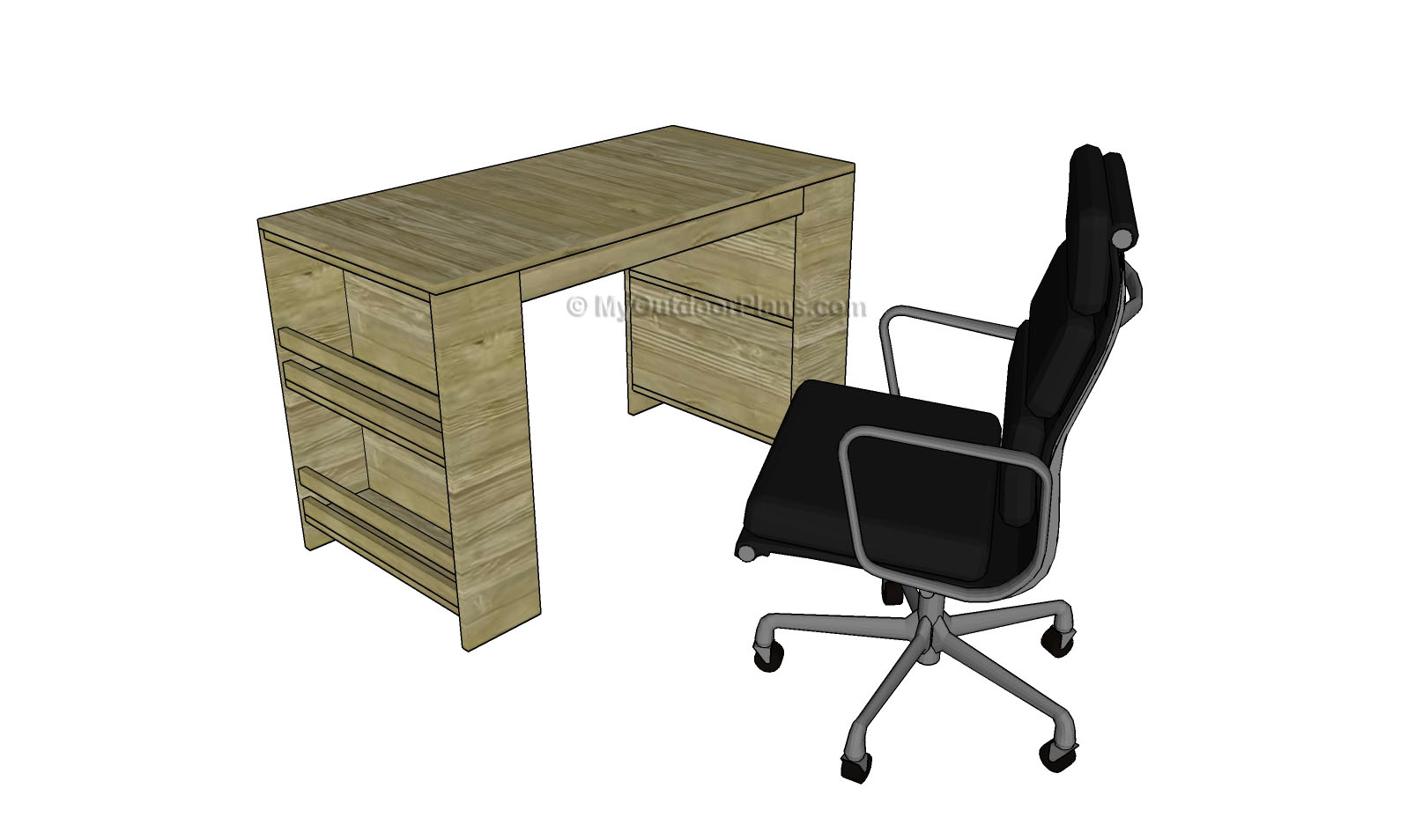 Kids Desk Plans