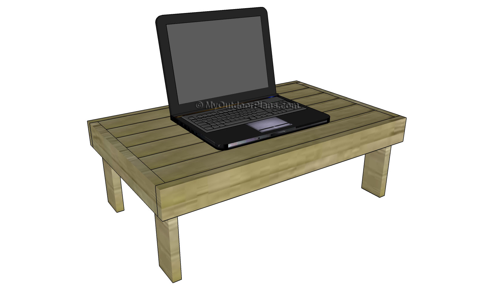 Free Lap Desk Woodworking Plans
