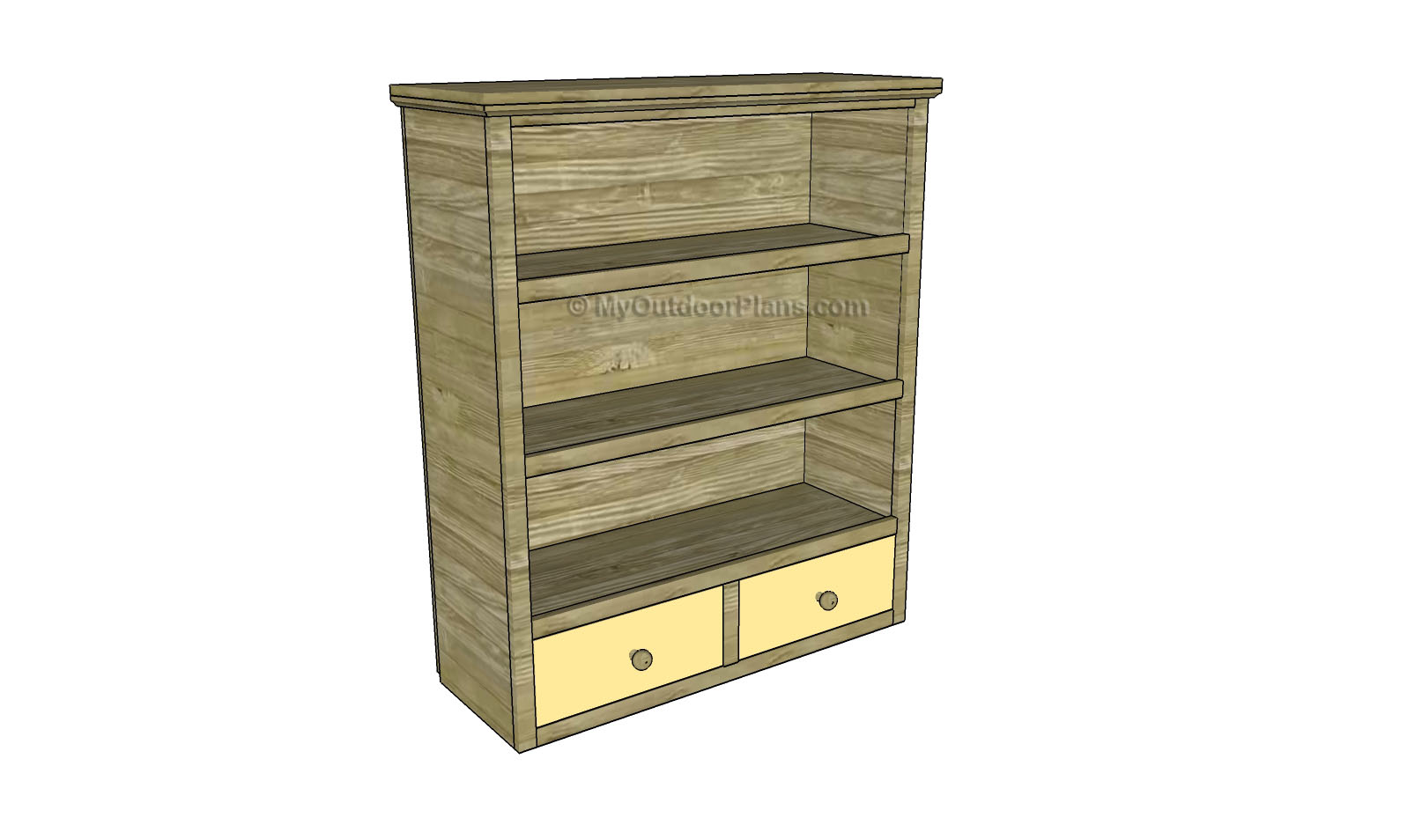 Simple Bookcase Plans Myoutdoorplans Free Woodworking