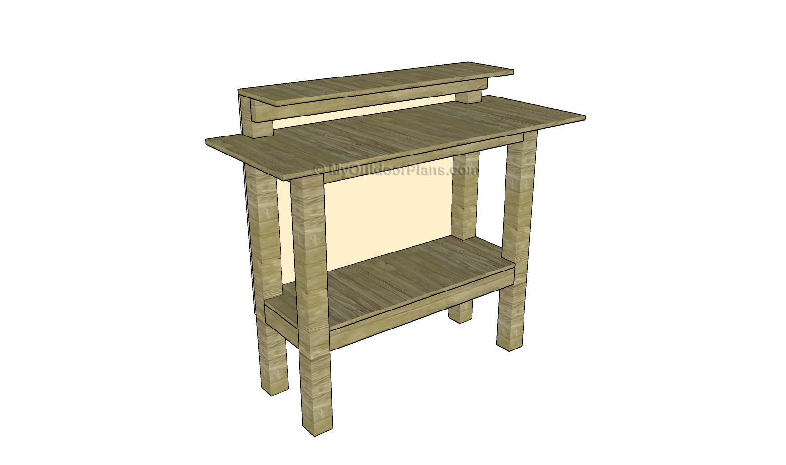 Stand Up Desk Plans | Free Outdoor Plans - DIY Shed, Wooden Playhouse ...