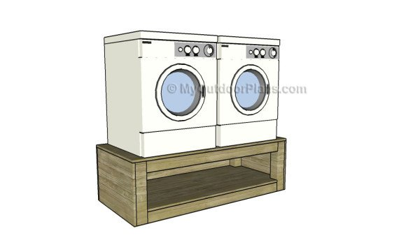 Washer Dryer Pedestal Plans Myoutdoorplans Free