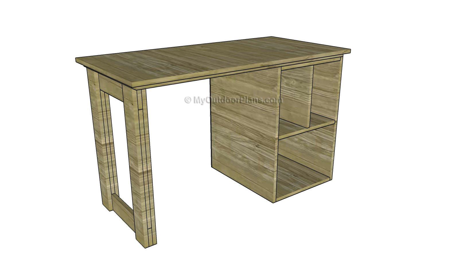 Wood Desk Plans