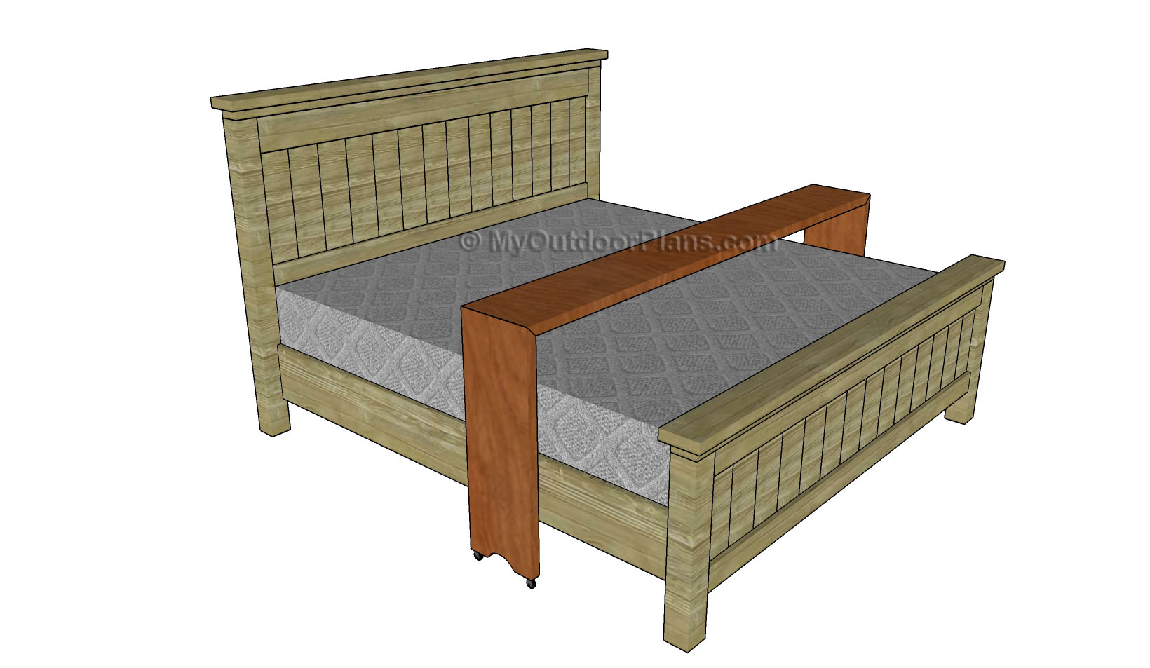 Bed Table Plans