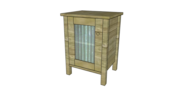 Bedside Table Plans | Free Outdoor Plans - DIY Shed, Wooden Playhouse ...