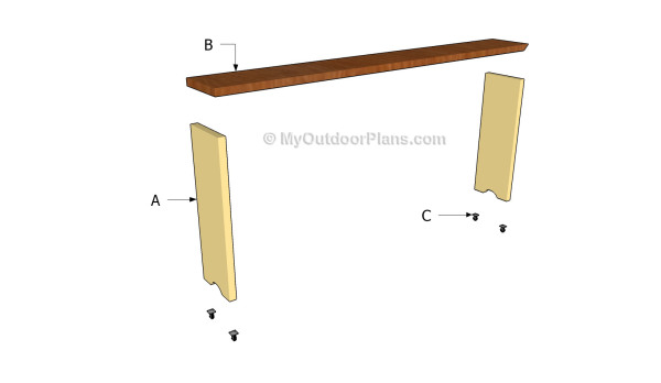 Building a bed table