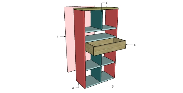 Building a closet organizer