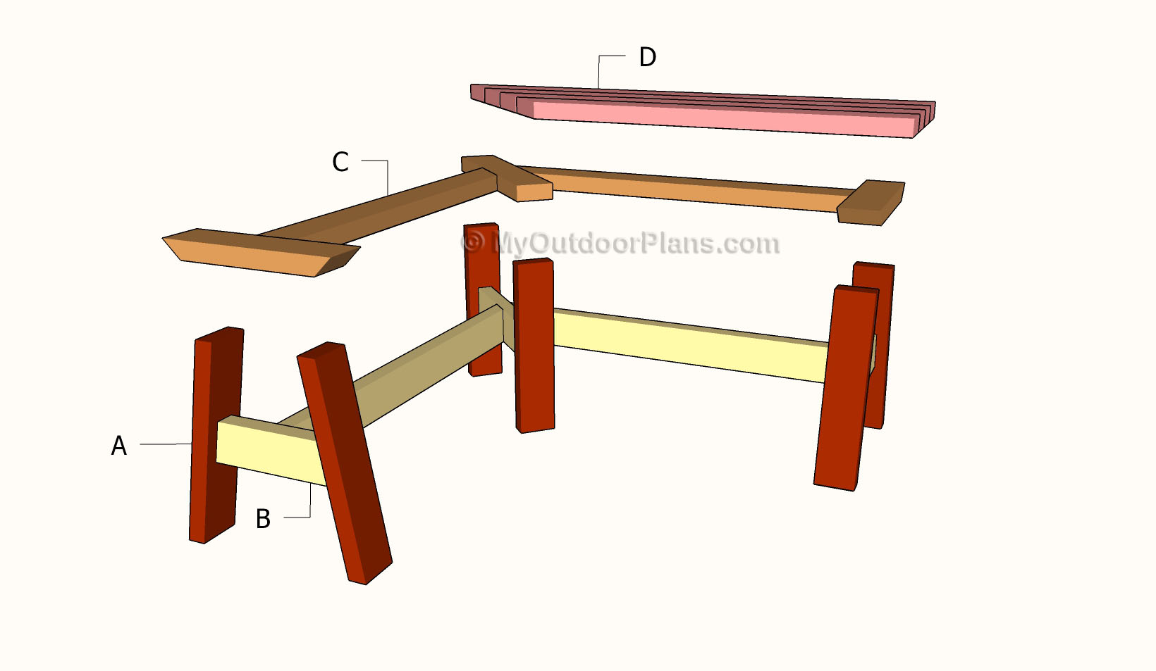 Corner Bench Plans | Free Outdoor Plans - DIY Shed, Wooden Playhouse ...