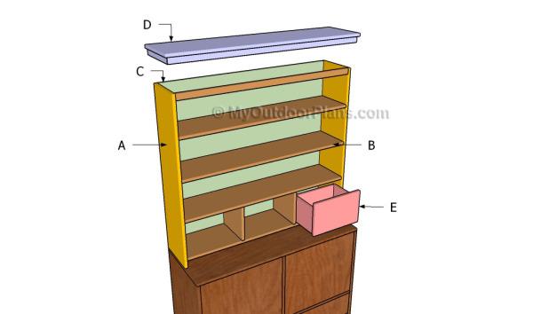 Building a desk hutch