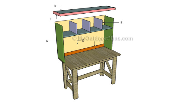 Building a desk hutch