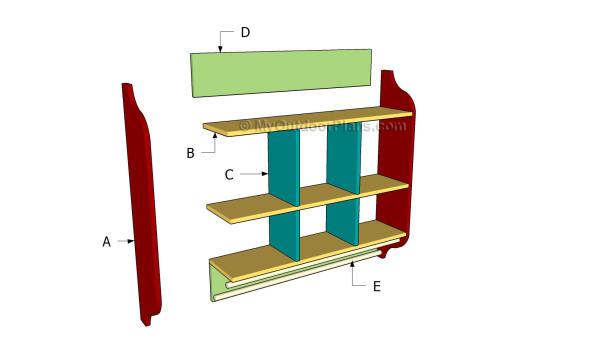 Building a kitchen hutch