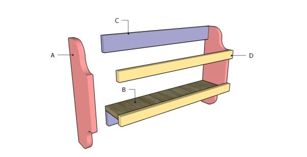 Building a magazine rack