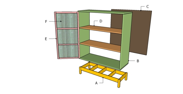 Building a pantry cabinet