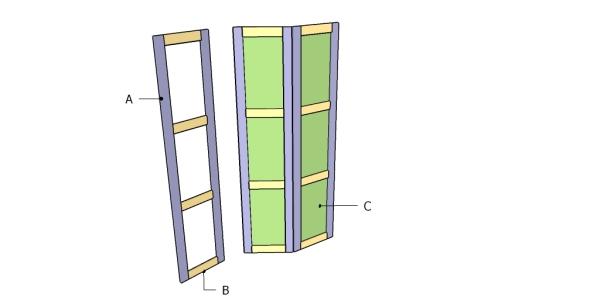 Building a room divider