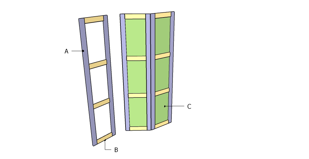 Room Divider Plans Myoutdoorplans Free Woodworking