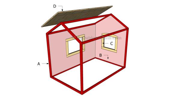 Building an indoor playhouse