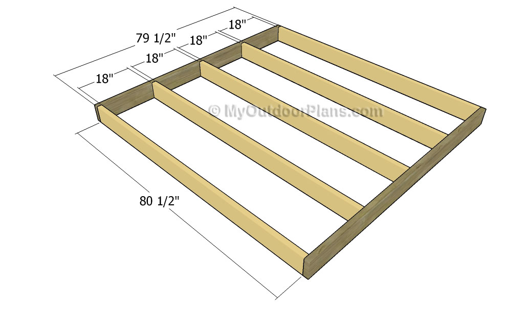 Building a platform bed with storage