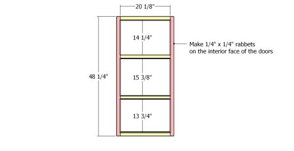 Building the door frames