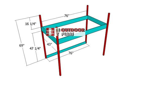Building-the-frame-for-the-loft-bed