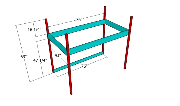 Playhouse Loft Bed Plans | MyOutdoorPlans | Free Woodworking Plans on high ceiling loft, barn plans with loft, playhouse plans and blueprints, garage plans with loft, tree house plans with loft, playhouse loft ladder, floor plans with loft, playhouse plans with porch, playhouse with slide plans, playhouse with deck, playhouse with loft and porch, playhouse plans with storage,
