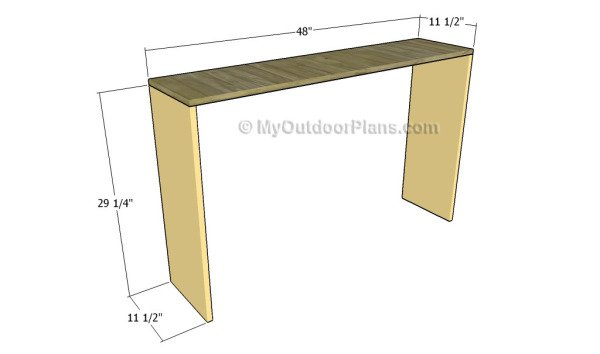Building the frame of the hutch